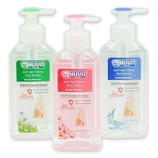 NUVO Hand Sanitizer (Pump) 250ml