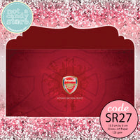 "SR27 ""Arsenal"" Soccer Envelopes"