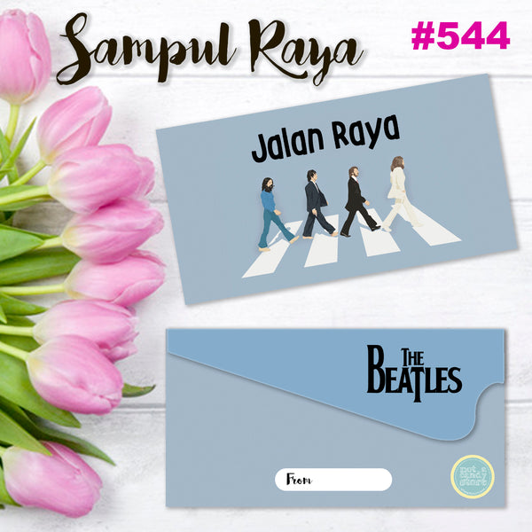 "SR544 ""The Beatles"" Jalan Raya Envelopes"