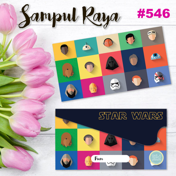 "SR546 ""Star Wars"" Icons Envelopes"