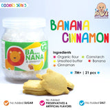 HAYS Banana Cinnamon Cookies 21pcs (7M+)