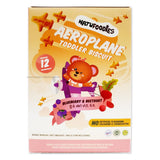 NATUFOODIES Blueberry & Beetroot Toddler Biscuit 150g/5 x 30g (12M+)