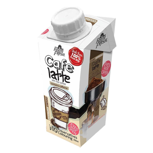 FARM FRESH UHT Cafe Latte 200ml