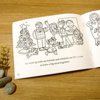 """Christmas in Singapore"" Colouring Book"