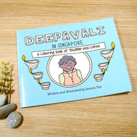 """Deepavali in Singapore"" Colouring Book"