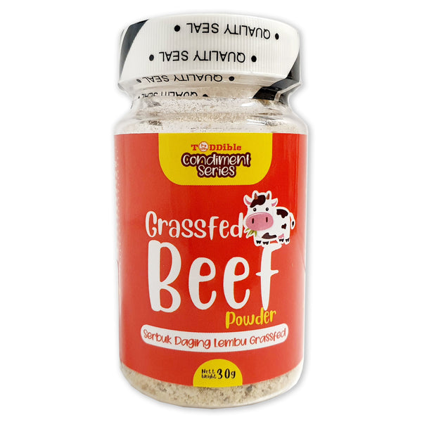 TODDIBLE Grassfed Beef Powder 30g (6M+)