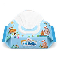 I LOVE BEBE Wet Wipes (with cap) 80 sheets