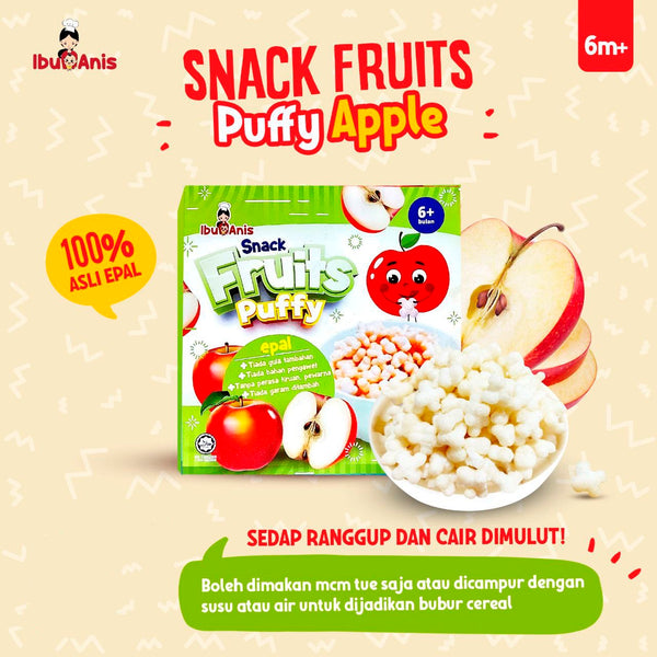IBU ANIS Apple Puff 10g x 3 (6M+)