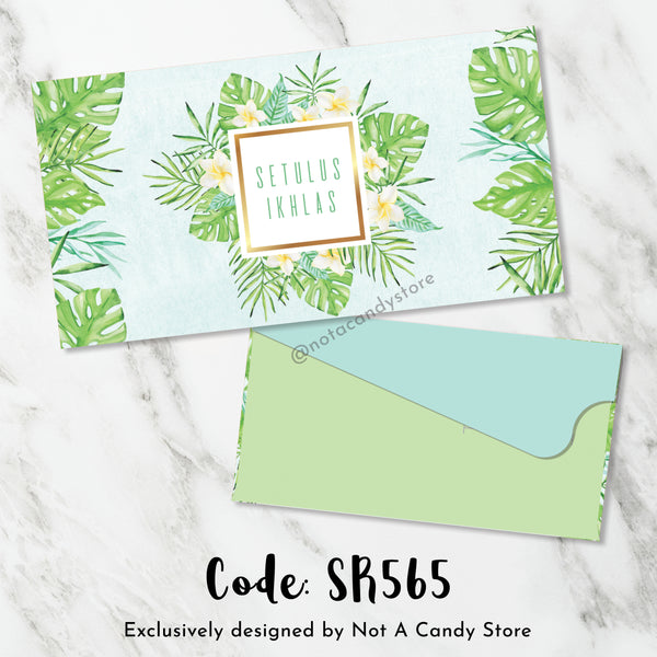 "SR565 ""Setulus Ikhlas"" Monstera Envelopes"