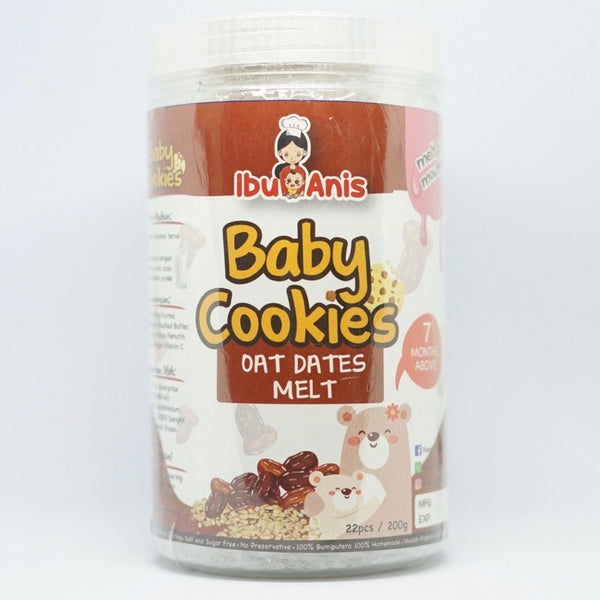 Oat Dates Melt Cookies