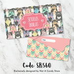 "SR560 ""Studious Cats 2"" Envelopes"