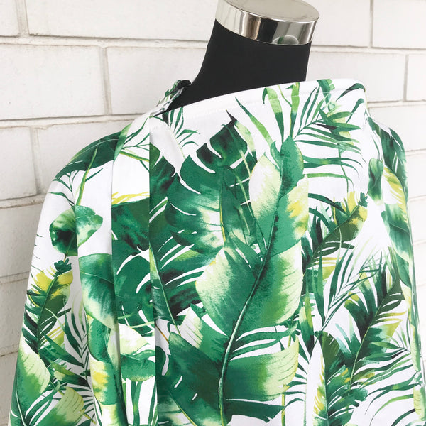 Green Leaves Nursing Cover