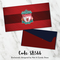 "SR566 ""Liverpool"" Soccer Envelopes"
