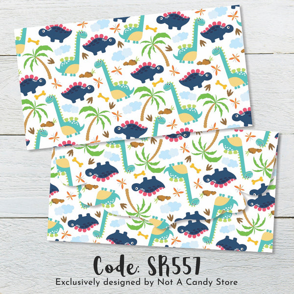 "SR557 ""Dinosaurs"" Envelopes"