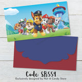 "SR559 ""Paw Patrol"" Envelopes"