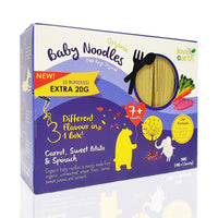 LOVE EARTH Organic Baby Noodle - Carrot, Sweet Potato & Spinach 200g/40g x 5 bundles (7M+)