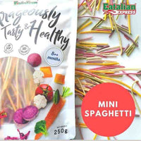 EATALIAN EXPRESS Mini Spaghetti Mixed Vegetable Pasta (8M+)