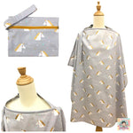 Sparkly Unicorns Nursing Cover