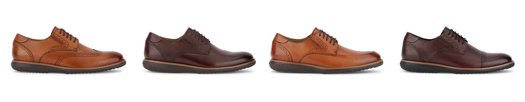 dockers shoes butterscotch and burgundy