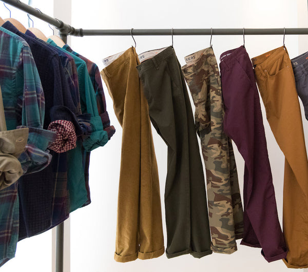 fall dockers clothing colors