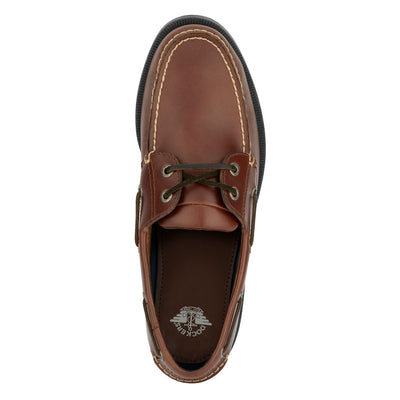 Raisin-Dockers Mens Castaway Genuine Leather Casual Boat Shoe - Wide Widths Available