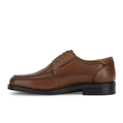 Tan-Dockers Mens Perspective Genuine Leather Business Dress Lace-up Oxford Shoe