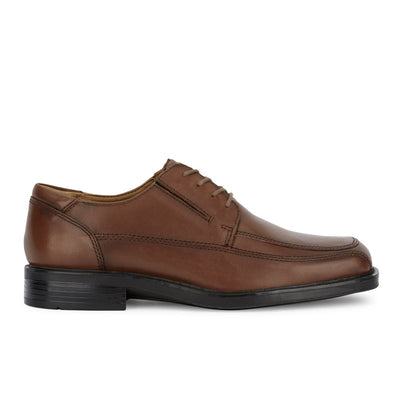 Tan-Dockers Mens Perspective Leather Business Oxford Shoe - Wide Widths Available