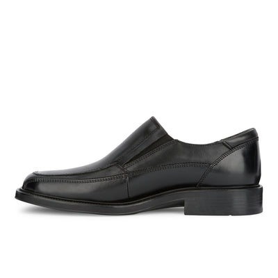 Black-Dockers Mens Proposal Genuine Leather Business Dress Slip-on Loafer Shoe
