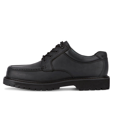 Black-Dockers Mens Glacier Genuine Leather Rugged Casual Lace-up Oxford Shoe