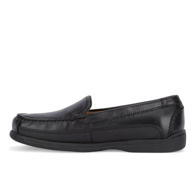 Black-Dockers Mens Catalina Leather Casual Slip-on Comfort Loafer Shoe