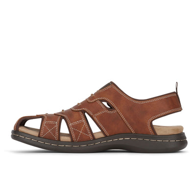 Rust-Dockers Mens Searose Casual Comfort Outdoor Sport Fisherman Sandal Shoe