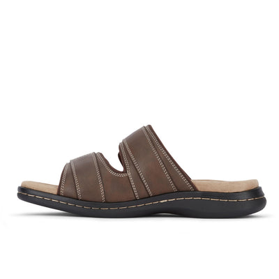 Briar-Dockers Mens Delray Casual Comfort Outdoor Slip-on Slide Sandal Shoe
