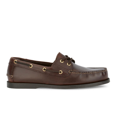 Raisin-Dockers Mens Vargas Genuine Leather Casual Classic Rubber Sole Boat Shoe