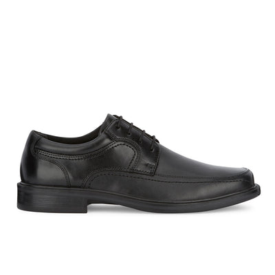 Black-Dockers Mens Manvel Genuine Leather Business Dress Lace-up Oxford Shoe