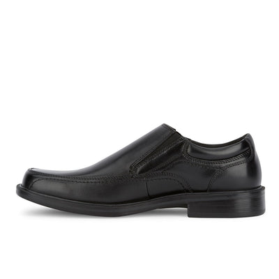 Black-Dockers Mens Edson Genuine Leather Business Dress Slip-on Loafer Shoe