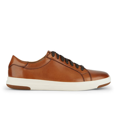 Tan-Dockers Mens Gilmore Genuine Leather Casual Fashion Lace-up Sneaker Shoe