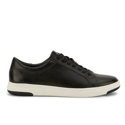 Black-Dockers Mens Gilmore Genuine Leather Casual Fashion Lace-up Sneaker Shoe