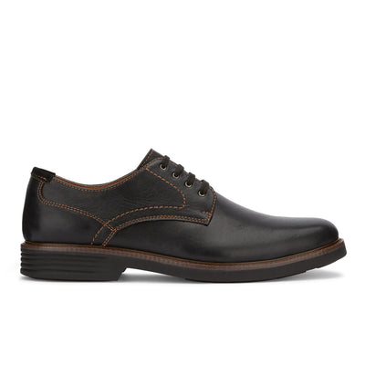 Black-Dockers Mens Parkway Genuine Leather Casual Lace-up Oxford Shoe with NeverWet