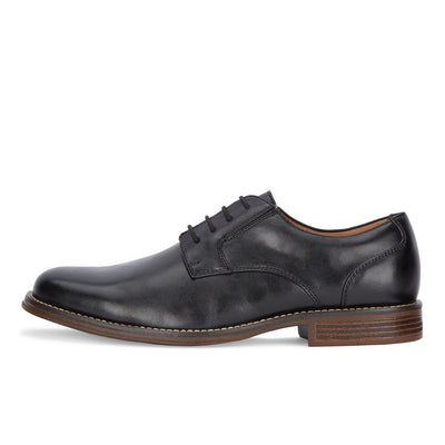 Black-Dockers Mens Fairway Business Dress Lace-up Plain Toe Oxford Shoe