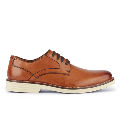 Butterscotch-Dockers Mens Parkway Genuine Leather Casual Lace-up Oxford Shoe with NeverWet