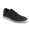 Navy/Grey-Dockers Mens Einstein Knit/Leather Dress Casual Oxford Shoe with NeverWet