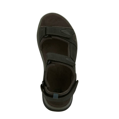 Black-Dockers Mens Spencer Casual Outdoor Sandal Shoe with SupremeFlex Outsole