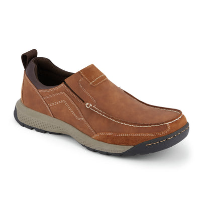 Tan-Dockers Mens Albright Rugged Casual Slip-on Rubber Sole Outdoor Loafer Shoe