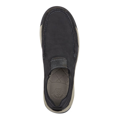 Black-Dockers Mens Albright Rugged Casual Slip-on Rubber Sole Outdoor Loafer Shoe