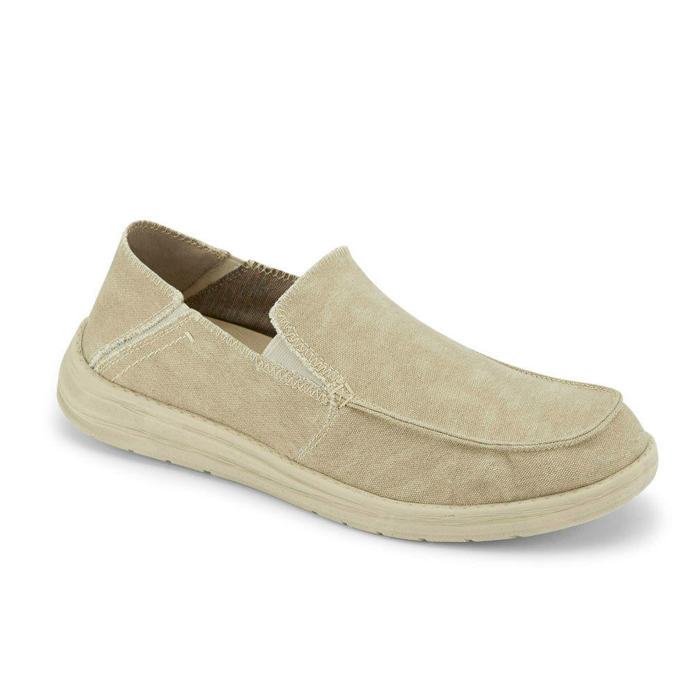 Sand-Dockers Mens Ferris Casual Slip-on Shoe with 4-Way Stretch and FEELIT Comfort Footbed
