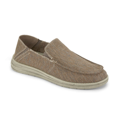 Taupe-Dockers Mens Ferris Casual Loafer with 4-Way Stretch and FeelIt Comfort Footbed