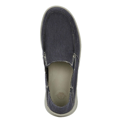 Navy-Dockers Mens Ferris Casual Loafer with 4-Way Stretch and FeelIt Comfort Footbed