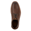 Cognac-Dockers Mens Morrison Genuine Leather Casual Lace-up Oxford Shoe with NeverWet