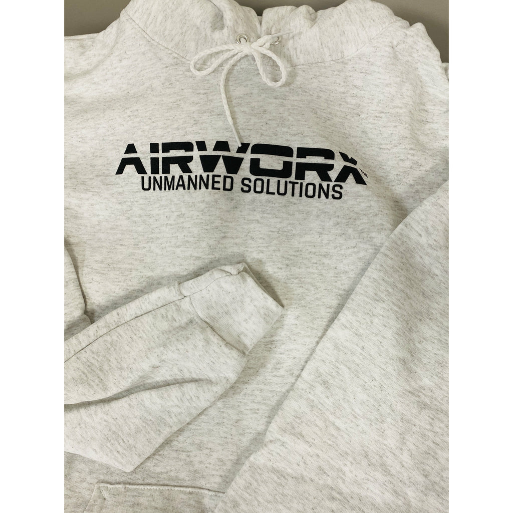 Airworx Hoodie - Gray - Airworx Unmanned Solutions