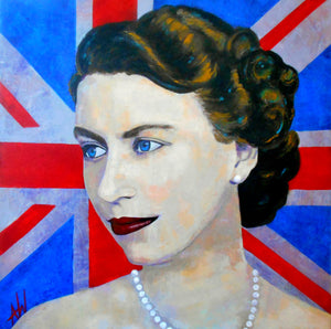 Main Gallery Tagged Hrh Qe Ii Angie Wright Art